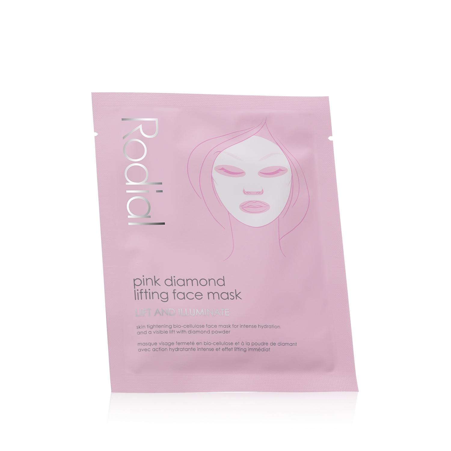 Pink Diamond Instant Lifting Face Mask Individual Sachet
