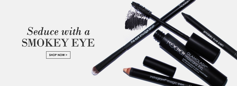 Get your perfect Christmas party look with a smokey eye